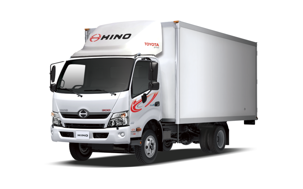 משאית הינו HINO עכשיו גם במורגן קפיטל