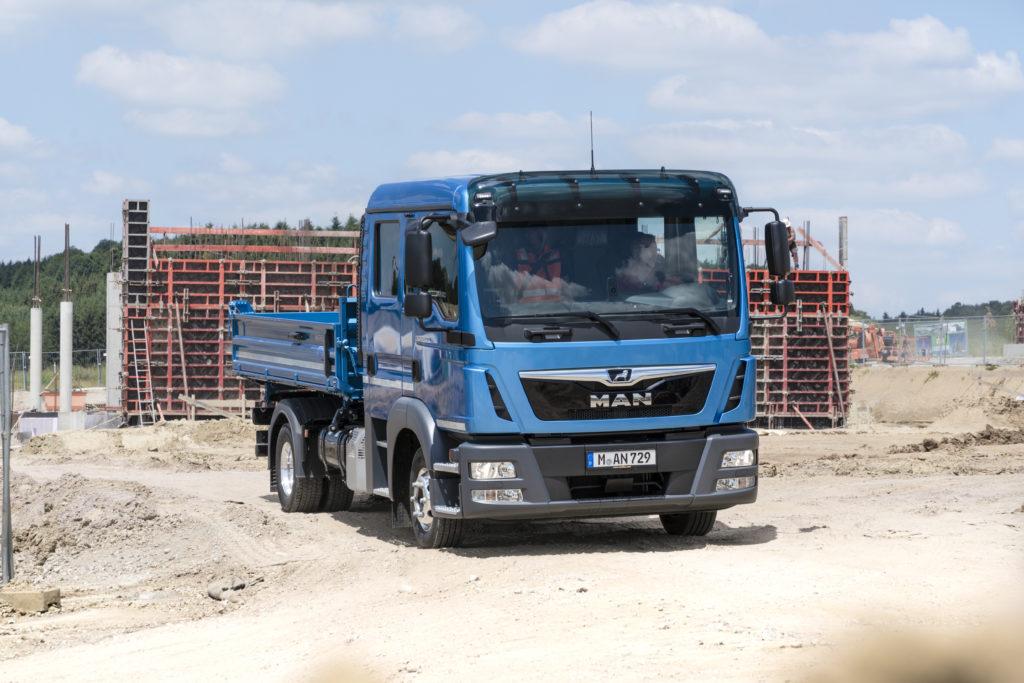 משאית 4 צילינדרים מבית MAN זמינה גם במורגן קפיטל